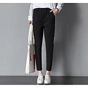 Mujer Activo Tiro Medio Alta elasticidad Culotte Pantalones,Pantalones Harén A Rayas