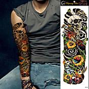 Tatoveringsklistermærker Andre Ikke Giftig Stor Størrelse Vandtæt Dame Herre Teenager Flash tatovering Midlertidige Tatoveringer