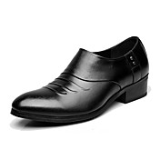 Mujer Oxfords Zapatos formales Cuero Primavera Otoño Negro 5 - 7 cms