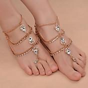 Mulheres Tornezeleira/Pulseiras Ferro (niquelado) Liga Moda bijuterias Caído Jóias Para Diário Roupas para Lazer Para Noite