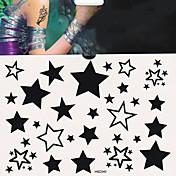 1 Tatoveringsklistermærker Andre Ikke Giftig Nederste del af ryggen VandtætDame Herre Voksen Teenager Flash tatoveringMidlertidige