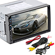 7002 reproductor de video mp5 de radio de coche de 2 din bluetooth autoradio fm usb sd hd pantalla táctil con am rds reproductor de música