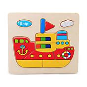 ジグソーパズル ジグソーパズル ビルディングブロック DIYのおもちゃ 船