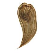 uniwigs®レミー人間の髪のモノラルヘアトッパーの閉鎖ヘアトッパーは、抜け毛のためにまっすぐに(y-22)