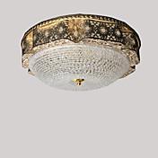 Montage de Flujo ,  Moderno/Contemporáneo Tradicional/Clásico Galvanizado Característica for Cristal LED MetalSala de estar Dormitorio