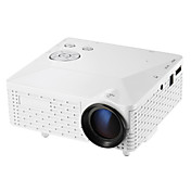 BL-18 LCD HVGA (480x320) Proyector,LED 2000lm Mini Proyector