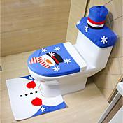 tilfældig stil glædelig jul og godt nytårs bedste julegave&julepynt badeværelse toilet sæde tæppe