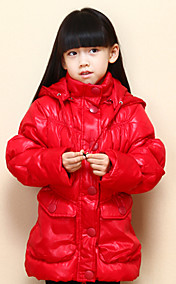 Chunyazi Mode lange Hoodie Padded Coat (Red)