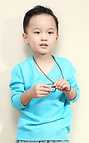 Chunyazi Elegante Solid Color Pullover (Blau)