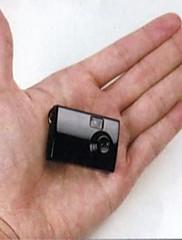 mimořádně kompaktní mini kamera a digitální video rekordér