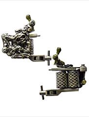 empaisticタトゥーマシン - 鋼の頭蓋骨のフレーム