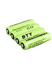 4 x AA Ni-MH BTY 2300mAh nabíjecí baterie (hb039)