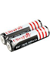Li-ion 3.7V 3600mAh dobíjecí baterie (hb040)