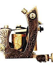 繊細な鋳鉄10ラップコイルの入れ墨機械シェーダ
