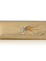 faux kožené kabelky s třpytkami večerní / spojky více barev k dispozici