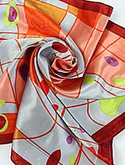 červená abstraktní tvar vytisknout šátku (50cm * 50cm)