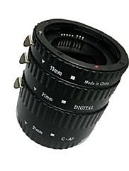 Meike af auto focus makro prodlužovací trubka set (abs) pro Canon D-SLR