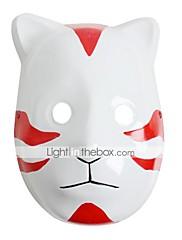 Maska Inspirovaný Naruto Cosplay Anime Cosplay Doplňky Maska Biały / Czerwony PVC Pánský / Dámský