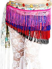 dancewear polyester výkon břišní tanec pás pro dámy více barev