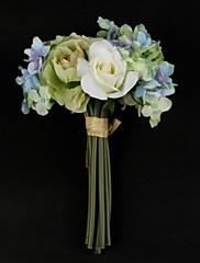 satén / bavlna kulatý tvar ruky svázaný svatební kytice