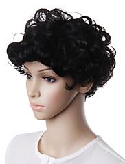 capless krátké přírodní vzhled umělých vlasů Paruka