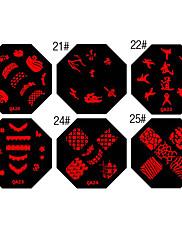 Nail Art Stempel Stamping Schablone Platte QS-Serie