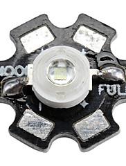 epistar 520-525nm 3W 60-80lm 700mah zeleni LED žarulja s aluminijske ploče (3.4-3.8V)
