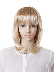 Capless Fashion Long Blonde Wave Hair Wig