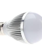 E27 5W 470-490LM 6000-6500Kナチュラルホワイトライトはボールバルブ(85-265V)LEDの