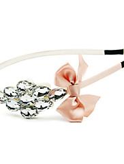 elegantní tkanina s štrasové čelenky žen