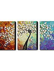 3 1211-AB0231の手塗りの油絵抽象的なセット