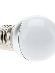 E27 3W 270-300LM 6000-6500KナチュラルホワイトLEDライトボールバルブ(85-265V)