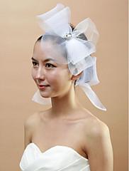 svatební net bowknot s fascinators drahokamu žen