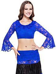 dancewear krajka břišní tanec top pro dámy více barev