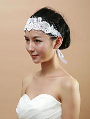 svatební krajka s Čelenky imitace PEARL / drahokamu ženských