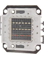 DIYの20W RGB光スクエア内蔵LEDエミッタ