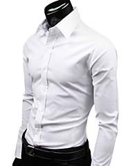 メンズ格安ファッションキャンディカラーレジャーシャツ(分類された色とサイズ)