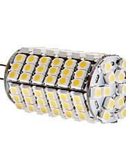 6W G4 LEDコーン型電球 T 120 SMD 3528 450 lm 温白色 DC 12 V