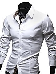 長袖シャツインサイドメンズ安いレオパードプリント(分類された色とサイズ)