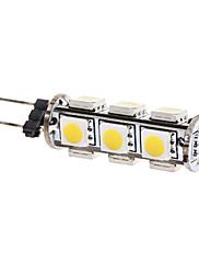 2W G4 LEDコーン型電球 T 13 SMD 5050 180 lm 温白色 DC 12 V
