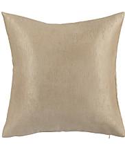 twopages® moderní pevné khaki polyesterová dekorativní polštář s vložkou