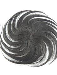 10 inčni ljudske kose crne ravne mono top kosa komada