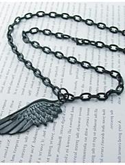 Módní pánské slitiny anděl křídlo náhrdelník