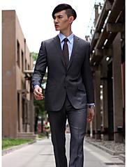 možnost dvojstisk zpět hrot šedá zářez klopě obleku plášť