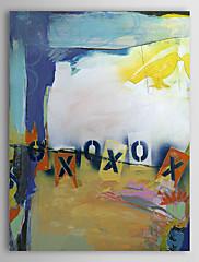 Ručně malované olejomalba Abstrakt 1305-AB0597