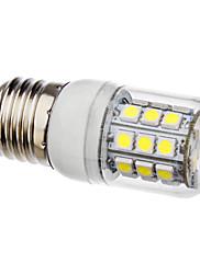 E27 3,5 w 30x5050smd 330-360lm 6000-6500K přirozené bílé světlo s krytem vedla kukuřice žárovky (AC 110-130/ac 220-240 V)