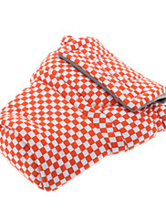 Orange & White kostkovaný Camara Bag