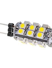 1W G4 LEDコーン型電球 T 25 SMD 3528 80 lm ナチュラルホワイト DC 12 V