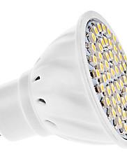 3W GU10 LEDスポットライト MR16 60 SMD 3528 150 lm 温白色 AC 110-130 / 交流220から240 V