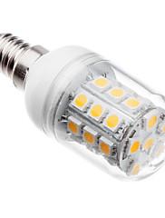 5W E14 LEDコーン型電球 T 30 SMD 5050 410 lm 温白色 交流220から240 V
